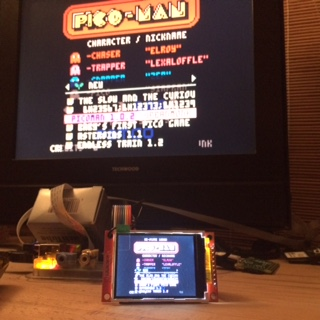 Sven Trümper Homepage | Pico-8 on Raspberry Pi with a